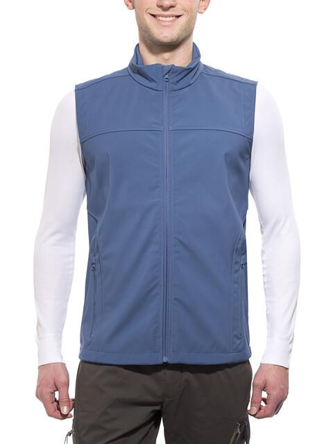 axant Alps Softshell Vest Men ensign blue